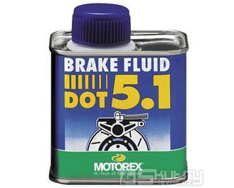 Brzdová kapalina Motorex Brake Fluid DOT 5.1 - objem 250 g