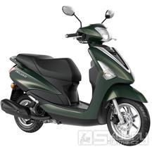 Yamaha D'elight 125 - barva zelená