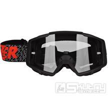 Crossové brýle Lazer Track Black/Black/Red