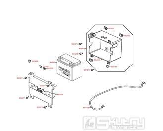 Akumulátor - Kymco Downtown 300i ABS SK60AB