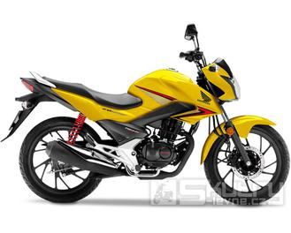 Honda CB125F - barva žlutá