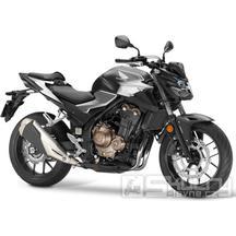 Honda CB500F - barva černá matná