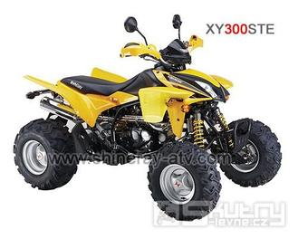 Čtyřkolka Shineray XY 300STE - barva žlutá