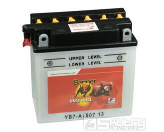 Olověná baterie Banner YB7-A
