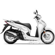 Honda SH 300i + Smart top Box - barva bílá