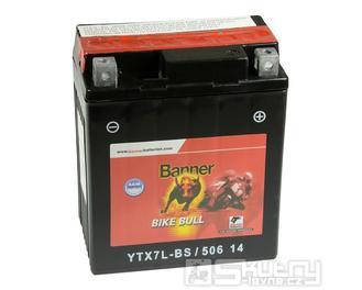 Gelová baterie Banner YTX7L-BS