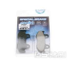 Brzdové destičky Polini organické pro Suzuki Burgman 250 až 400ccm