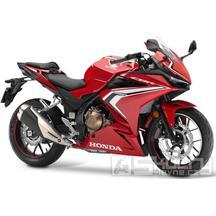 Honda CBR500R - barva červená