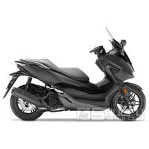 Honda Forza 125 ABS - barva černá