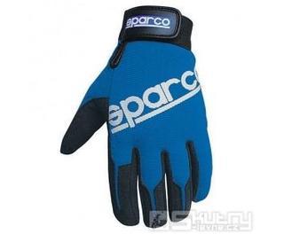 Rukavice Sparco MECA-2 - barva modrá, velikost S