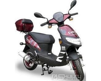 Motorro COBI 50 - barva červená
