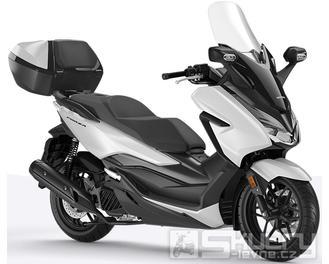 Honda Forza 125 ABS + Smart Key Horní Kufr 45L - barva bílá