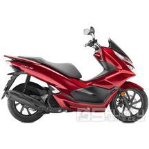 Honda PCX 125i - barva červená