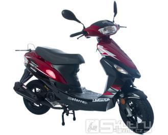 Motorro Digita 50 4T (Speedjet 50) + 3 letá záruka na motor - barva červená