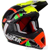 Off-road přilba Lazer MX8 Aerial Pure Carbon - Black carbon/Yellow/Red/Green/Matt