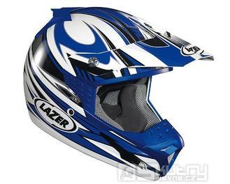 Přilba Lazer SMX Factory - barva modrá, velikost XS
