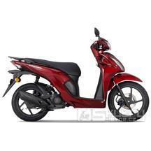 Honda Vision 110 E5 - barva červená