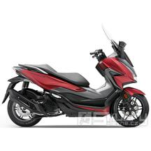 Honda Forza 125 E5 - barva červená