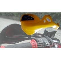 Kryty rukou pro čtyřkolky a motocykly Sunway - barva červená