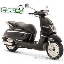 Peugeot Django Heritage 125i E4 - barva černá