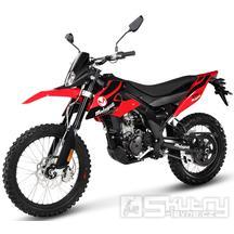 Malaguti XTM 125 - barva červená