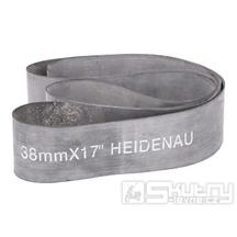 """Gumový pásek Heidenau do ráfku o šířce 38mm pro 16 až 17"""" ráfek"""