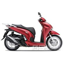 Honda SH 350i E5 Smart top box - barva červená