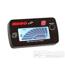 Palivoměr KOSO digitální -  bílé podsvícení