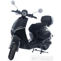 Motorro Insetto 125i + kufr a přilba* - barva černá