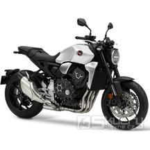 Honda CB1000R - barva bílá