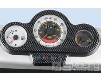 Kryt přístrojové desky carbon - Peugeot Speedfight2