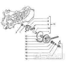 T9 Variátor, řemen variátoru - Gilera Runner 50 SP do roku 2005 (ZAPC36200...)