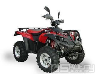 Linhai ATV 400 LH-B 4x4 s bohatou výbavou - barva červená