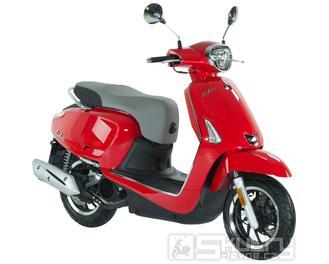 Kymco Like II 125i CBS - barva červená