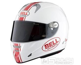Přilba Bell M5X Daytona - velikost XS, barva bílá/červená