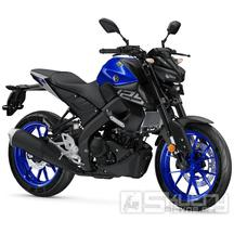 Yamaha MT-125 - barva modrá