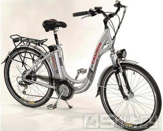 Elektrické kolo Tauris R110 E-Bike Pedelec - dámské - barva stříbrná