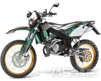 Rieju MRX 50 Top Edition - barva zelená