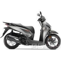 Honda SH 300i - barva stříbrná matná
