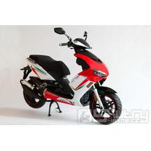 Motorro Formula 125i Euro4 + kufr - barva červená/bílá