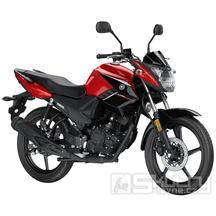 Yamaha YS125 - barva červená