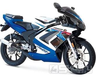 Rieju RS2 50 Matrix - barva modrá