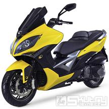 Kymco Xciting 400i ABS E4 - barva žlutá